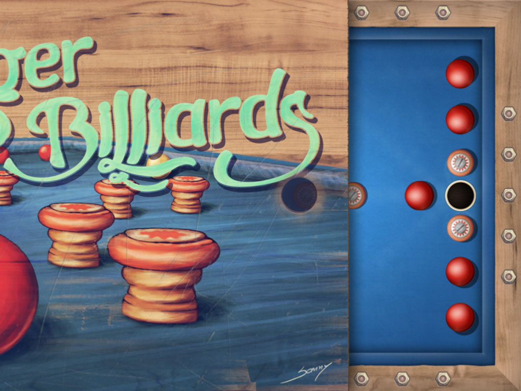 Finger Billiards